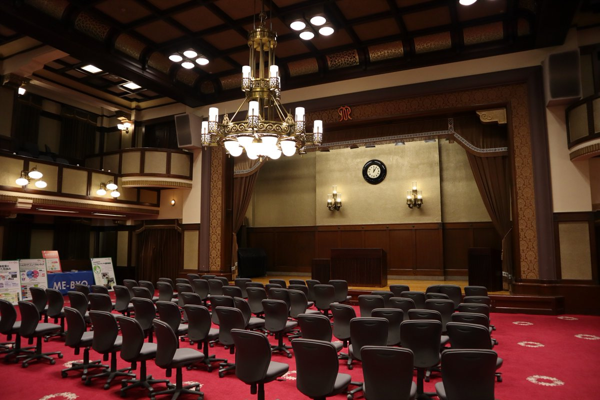Nihon Oodouri・Kanagawa Prefectural Office Building・Old conference hall-1