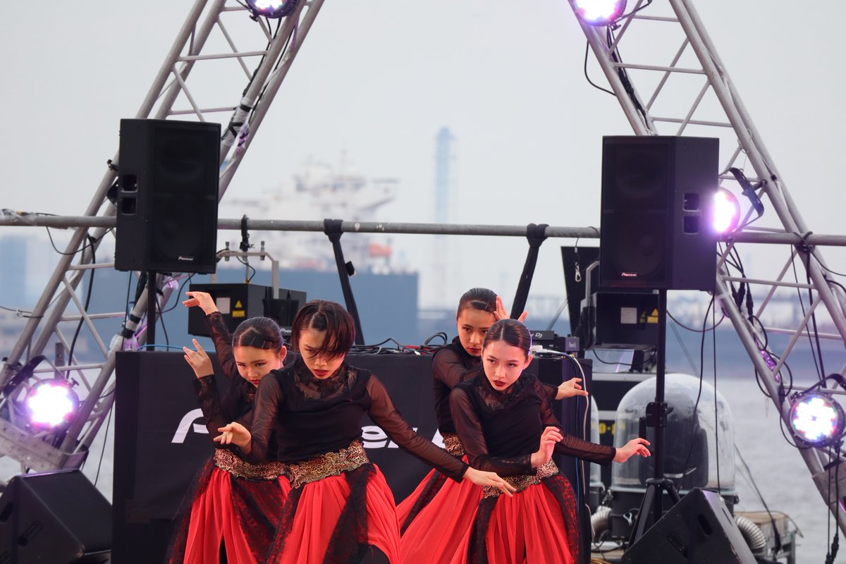 Festival to celebrate the anniversary of opening the Yokohama Port・Y160・dance-1