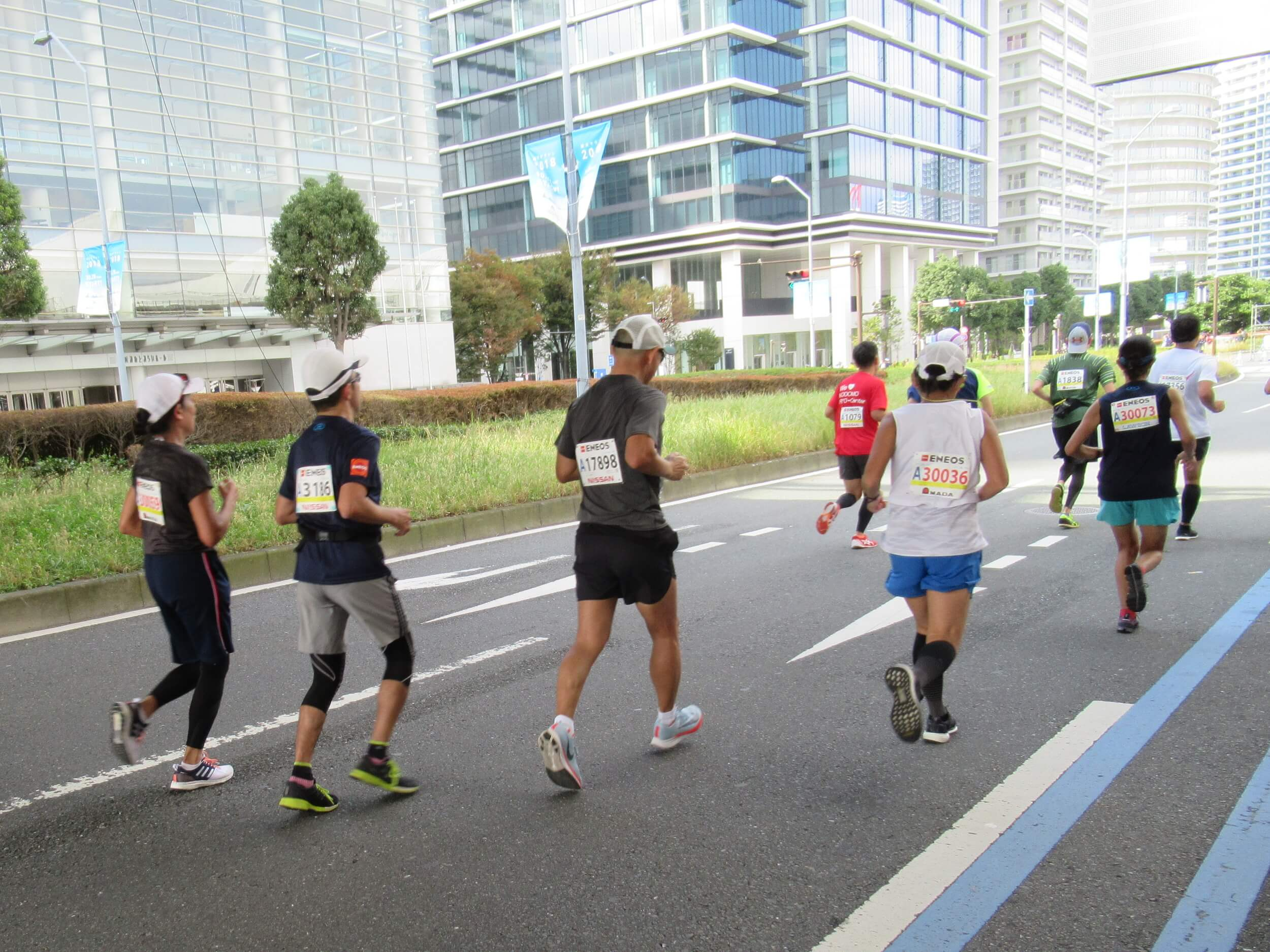 Yokohama Marathon 2018 runner
