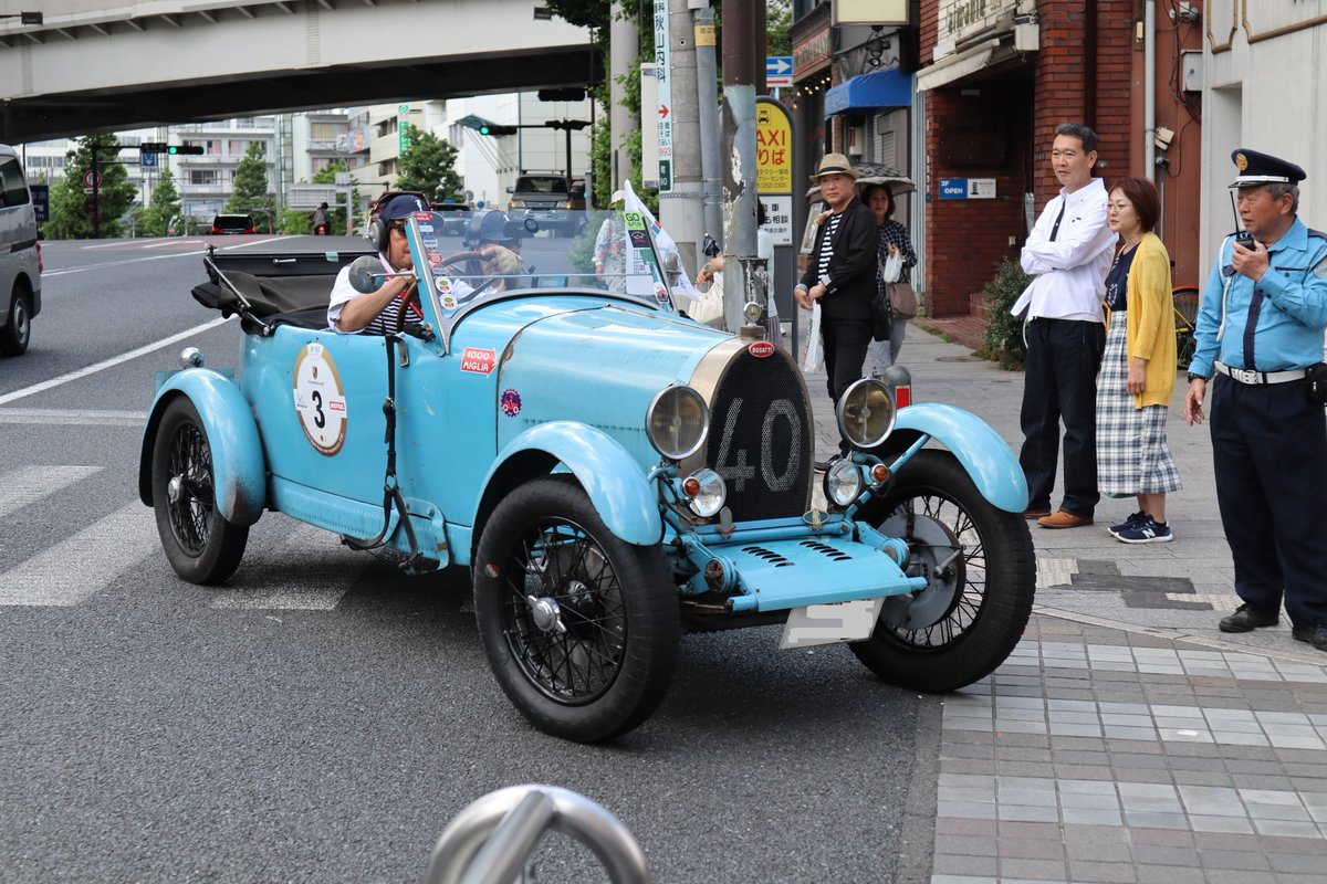 Motomachi/Yokohama・Classic Japan Rally 2019・No.3-Bugatti T40