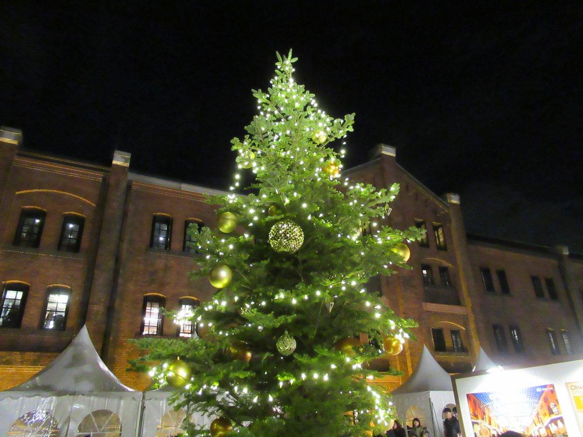 Red Brick Warehouse・Christmas market・tree small