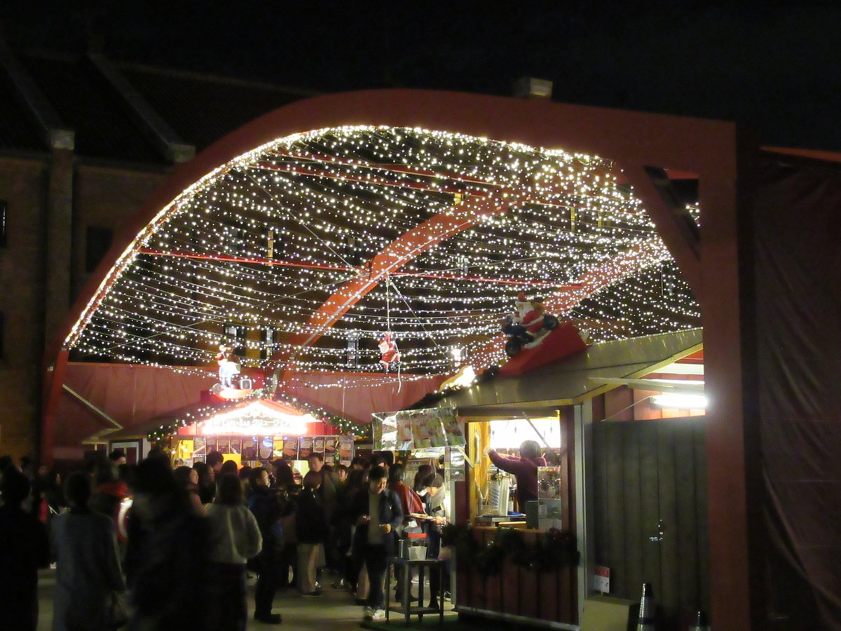 Red Brick Warehouse・Christmas market・roof