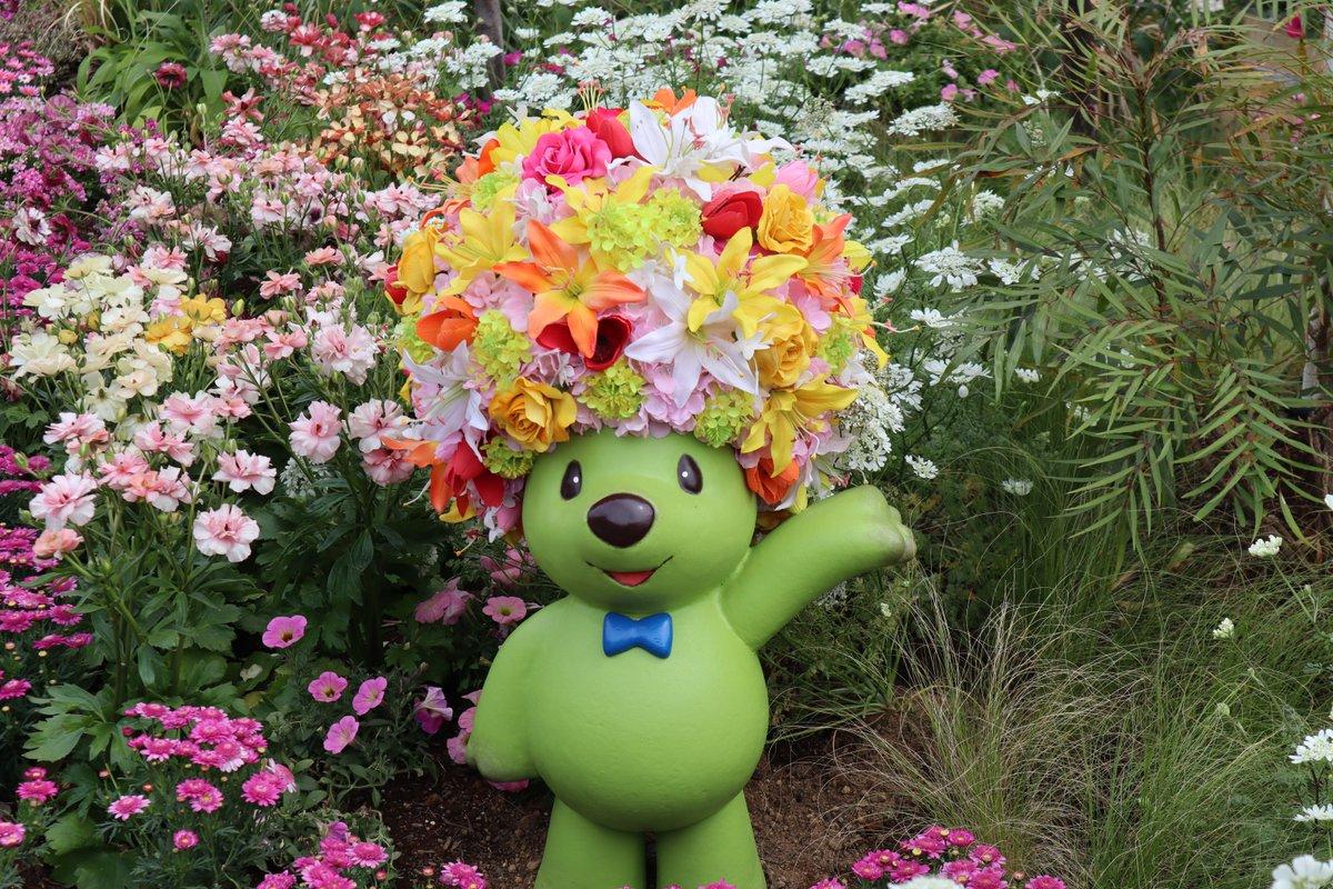 Red Brick Warehouse・Flower Garden・Garden Bear