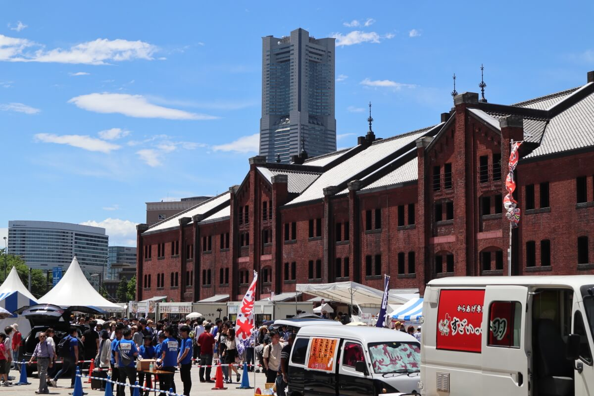 redbrickwarehouse・Gourmet and Entertainment Festival・Whole view