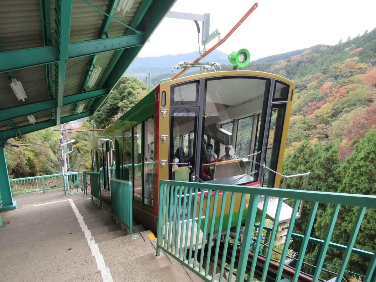 Oyama Cablecar・Oyama Aburi Shrine Station
