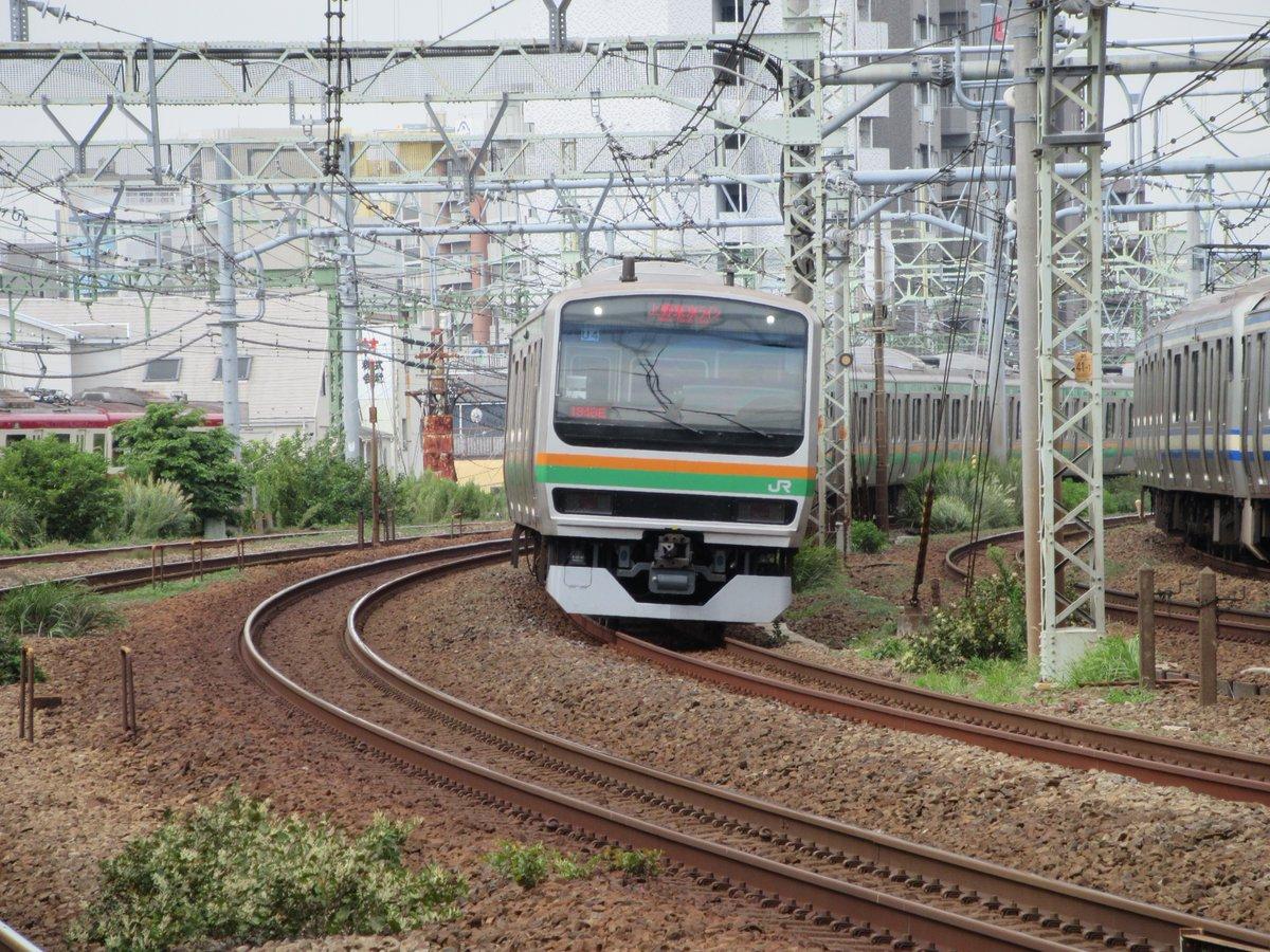 Tokaido Line・Tokyo Ueno Line・Pass through Shinkoyasu Station