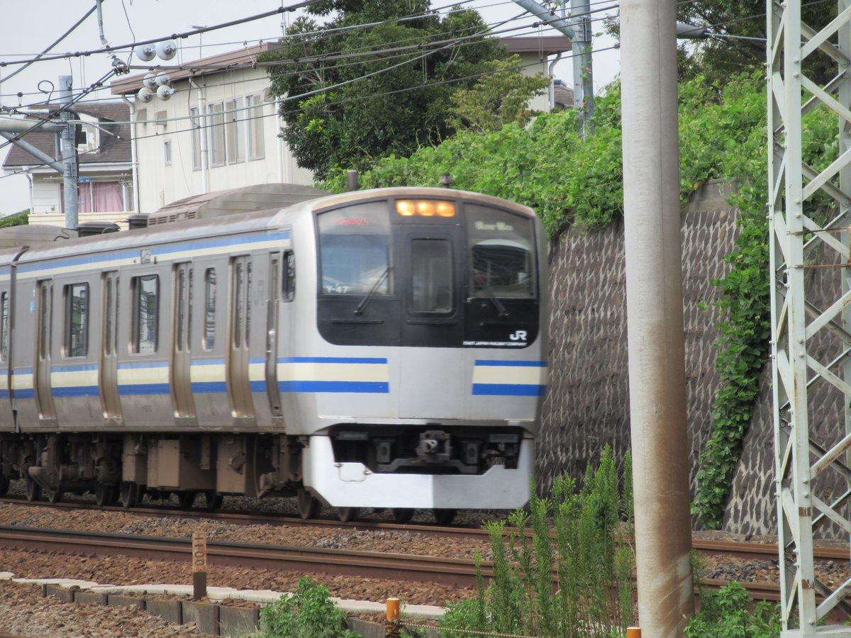 Yokosuka Line・Sobu line Rapid・Pass through Shinkoyasu Station