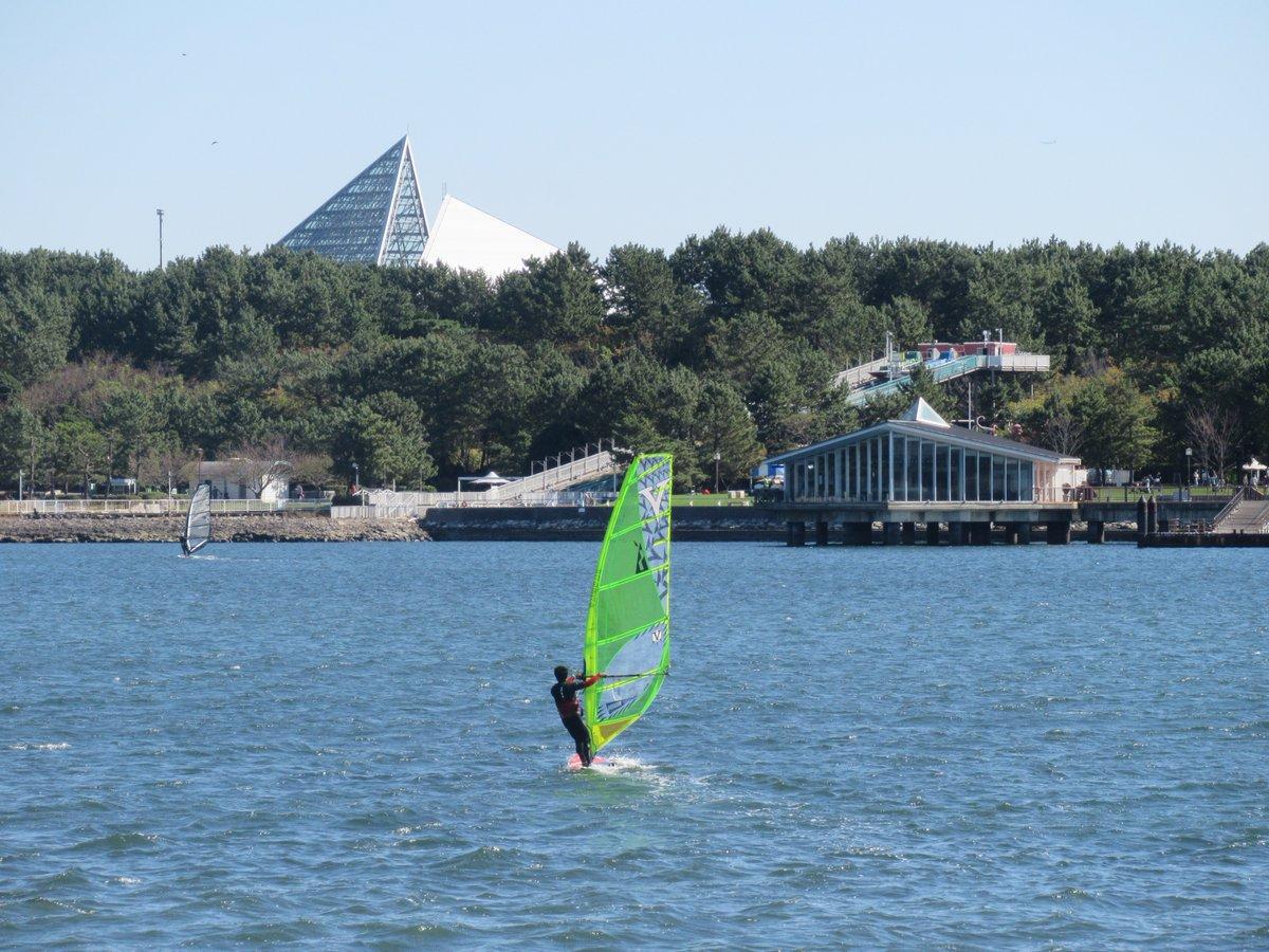 Uminokouen(Marine Park)-windsurfing1