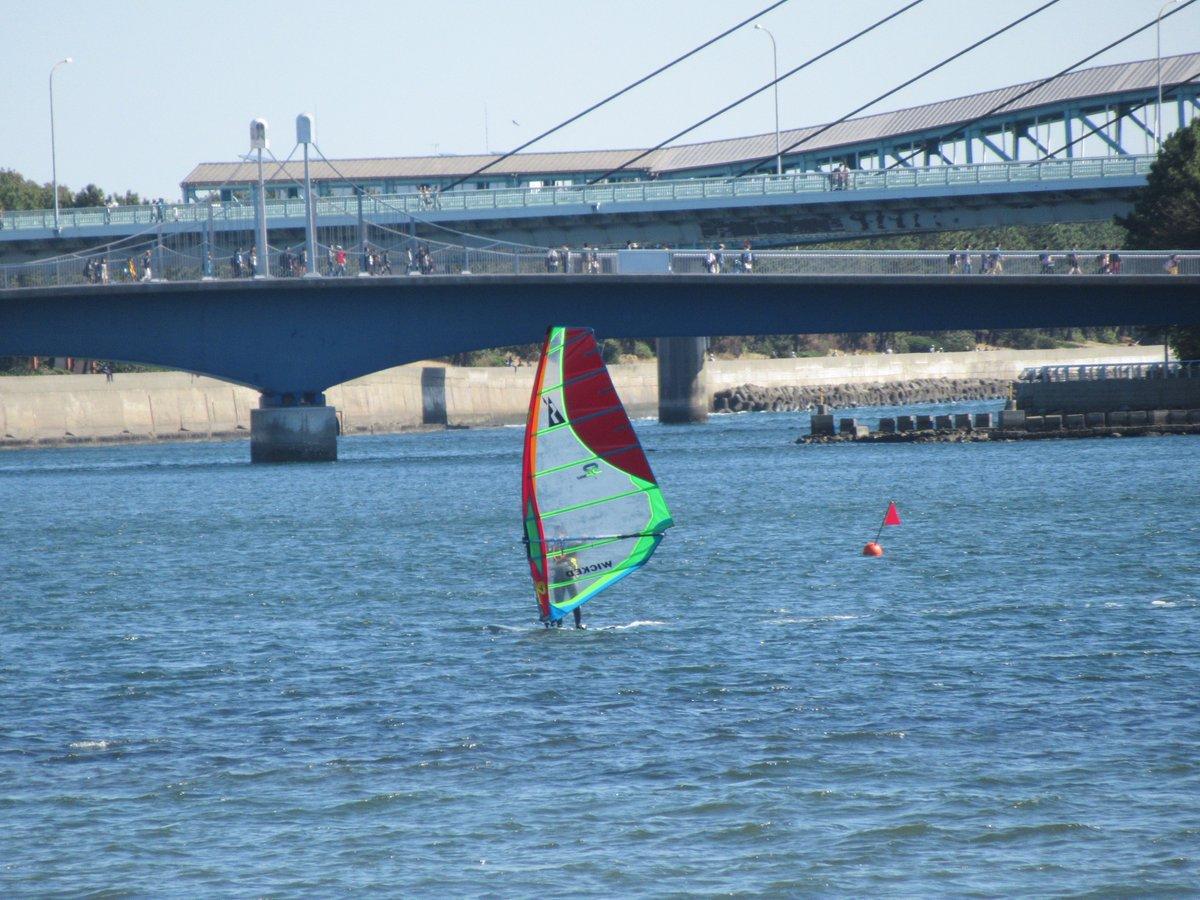 Uminokouen(Marine Park)-windsurfing2