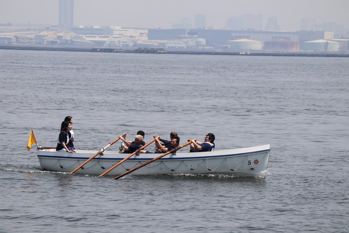 Yamashita Park・Cutter Race-3