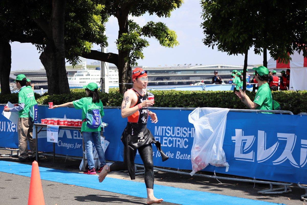 ITU World Triathlon Series・swim→bike-2