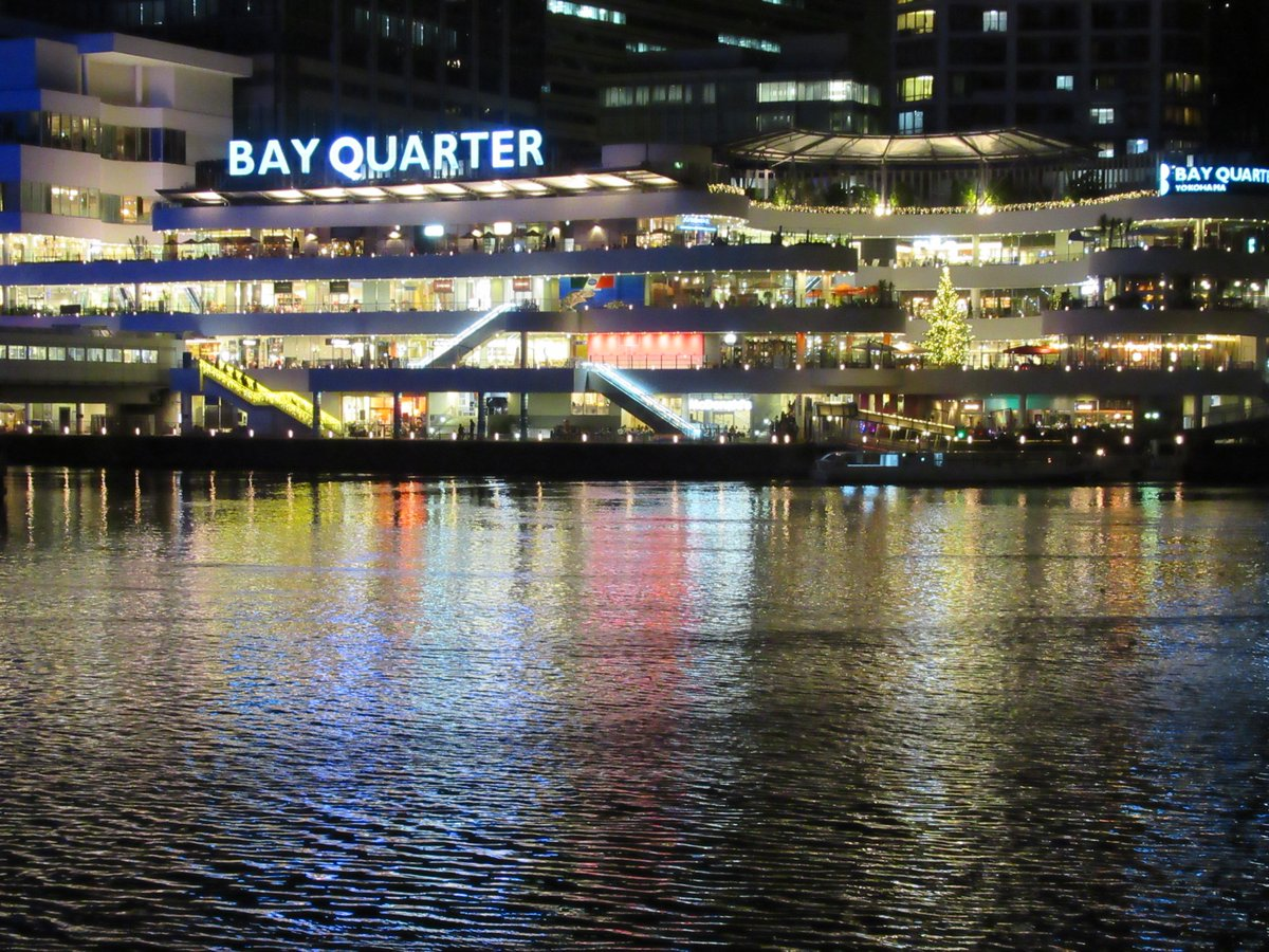 Bay Quarter・illumination・entire building