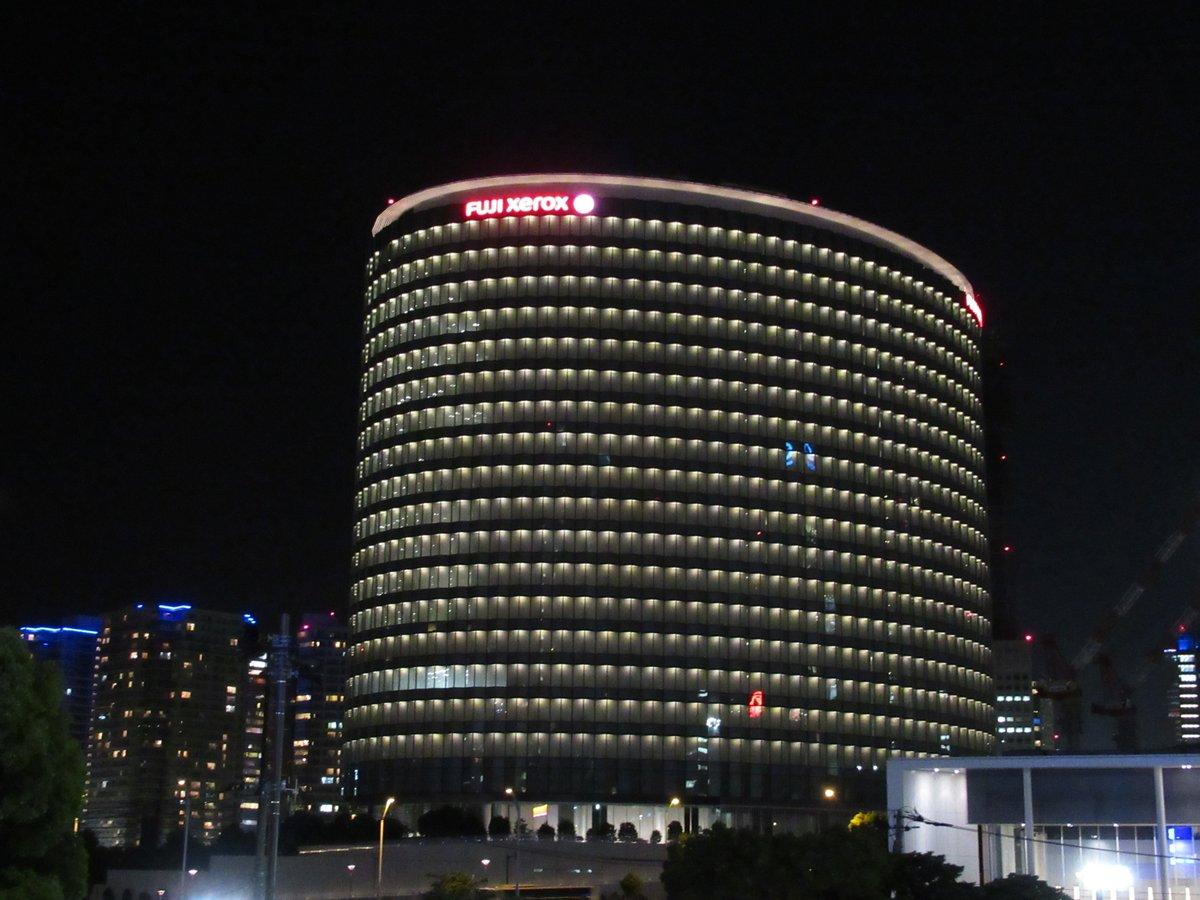 Fuji Xerox RD Square/night view